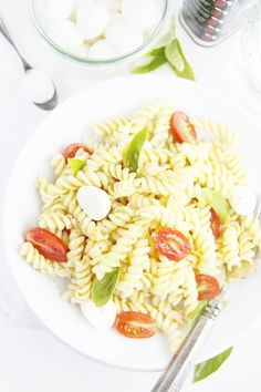What could make a caprese salad better? Pasta!!  Try this Spicy Caprese Pasta Salad.