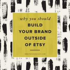 Paper + Oats | Why you should build your brand outside of Etsy