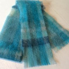"""Banana Republic Scarf NWOT Beautiful Aqua and cream colored scarf. New without tags.Measures 68"""" long. Banana Republic Accessories Scarves & Wraps"""