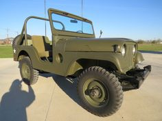 """1953 WILLYS JEEP M38A1 12 VOLT 4 CYL """"HURRICANE"""" ENGINE 4WD"""