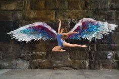Photo: Justin Reid Photography (dancer, dance, ballet, ballerina, jump, new york city, nyc, east harlem, manhattan, colette miller wings, global wings project, art, photography, fine art, performing art)