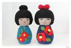 Amigurumi Russian Doll Pattern : Russian matryoshka babushka doll hot water bottle cover amigurumi