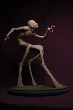 the bizarre sculptures of Matthew Levin (part one) Arte Horror, Horror Art, Sculpture Clay, Sculptures, Kobold, Landsknecht, Creepy Art, Creature Concept, Vanitas