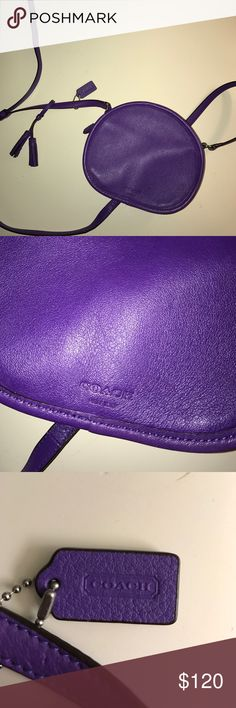 bright purple coach over the shoulder purse Never use bright purple coach over the shoulder purse Coach Other