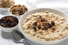 Hulled Barley Breakfast Bowl
