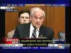 Ron Paul Instruyendo a Bernanke 27/02/08 - Español