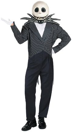 PartyBell.com - The #Nightmare Before Christmas Jack Skellington Deluxe Adult Costume #Halloween