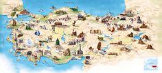 The top five destinations in Turkey. Istanbul, Mediterranean & Aegean Coast, Cappadocia & The Black Sea Coast. Pamukkale, Turkey Tourism, Turkey Travel, Antalya, The Tourist, Turkey Country, Capadocia, Visit Turkey, Seen
