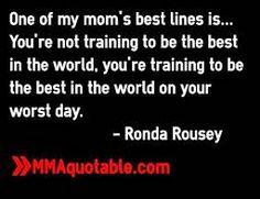 rhonda rousey motivation - Google Search