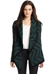 Torn Sally Tribal Draped Cardigan  Love this sweater!  Waiting to go lower in price though