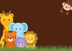 Invitación baby shower animalitos
