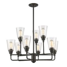 Annora 9-Light Candle-Style Chandelier #birchlane