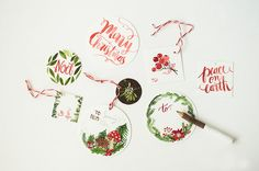 Exquisite tags worth saving even after the wrapping paper is thrown away. | 24 Adorable Free Gift Tags You Can Print Right Now