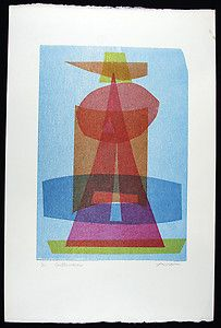 "Irving Amen Print ""Construction"" Hand Signed 6 of 10 | eBay"