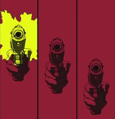 This establishes the intended bombtastic effect of the guns shots being in sync with the musical beats. Possible feature to add with our project. Comic Manga, Anime Comics, Manga Anime, Anime Art, Nail Bat, Otaku, Cowboy Bebop Opening, Cowboy Bepop, Cowboy Bebop Anime