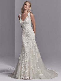 24514 Channing Rose by Sottero & Midgley. Try this beauty on at Aurora Bridal in Melbourne, FL (321) 254-3880