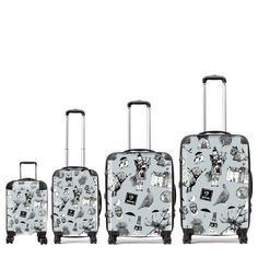 Gillian Kyle has designed some fabulous very Scottish suitcases. In a variety of sizes these fabulous lightweight suitcases are easily identified at any airport. Our suitcases are made to order and will be shipped to you in about one week.