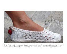Zapatillas de charol encaje una pieza básica por PdfPatternDesign