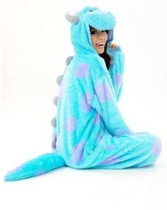 Cheap underwear, Buy Quality new pajama directly from China costume skirt Suppliers: New Adult Animal Onesie Monster's Sully Animal Cosplay Costume Pajamas Product Show Time Cute Onesies, Cute Pjs, Cute Pajamas, Cute Onsies For Teens, Comfy Pajamas, Pyjamas, Disney Outfits, Sweatshirts, Couple Pictures