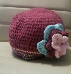 handmade crochet hat Crochet For Kids, Crochet Hats, Beanie, Handmade, Children, Bikinis, Knitting Hats, Young Children, Hand Made