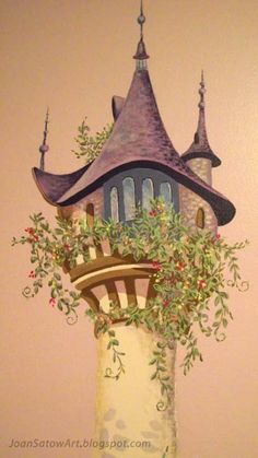 tangled mural - Google Search