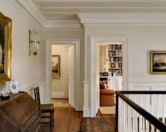 Floors, Millwork, Bookshelves, Art