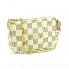 Louis Vuitton Damier Canvas Handbag LV N580101