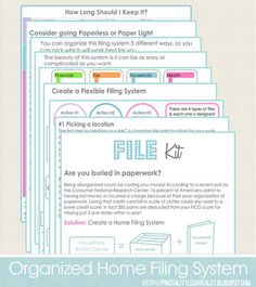 Free Filing Kit From Pinch A Little Save-A-Lot: Printables