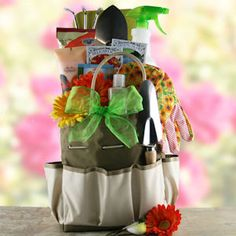 For the gardener...gift basket...Backyard Gardener image