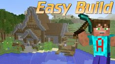 How to build a house in Minecraft | Minecraft Rustic House Tutorial | Minecraft Lets Build https://cstu.io/45cde5
