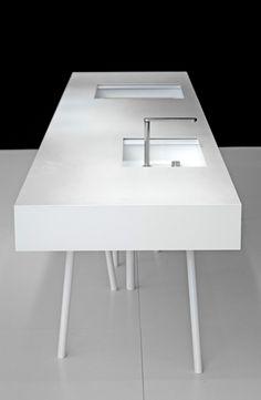 MIYO STUDIO - Product - N2 Kitchen Island