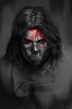 Winter Soldier by yangngi Fan Art / Digital Art / Painting & Airbrushing / Movies & TV©2014 yangngi