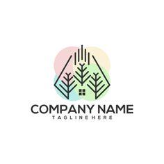 Logo - veectori Logo All Free Vector, Vector Free Download, Tree Logos, Company Names, Logo Design, Business Names, Wood Logo