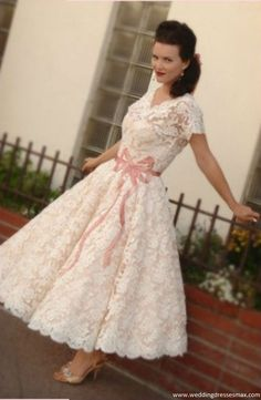 1950s Josephine at Stephanie James Vintage Wedding Dresses By Decade