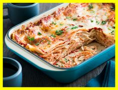 There are few more comforting things than a delicious bowl of buttery pasta. But adding in a healthy protein like chicken makes for a satisfying. Easy Chicken Lasagna Recipe, Classic Lasagna Recipe, Baked Lasagna, Meat Lasagna, Chicken Pasta Recipes, Chicken Meals, Stevia, Pumpkin Lasagna, Spicy Pasta