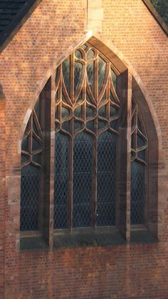 The beautifully slender Art Nouveau tracery of Edgar Woods Middleton church  Reminiscent of Mackintoshs Queens Cross Glasgow
