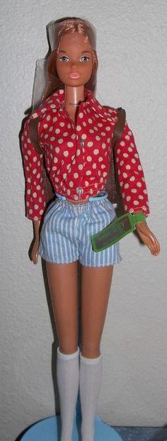 vintage barbie pal yellowstone kelley   wrist tag steffie face accessories
