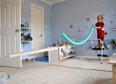 So Cool! A Floating Marble Run — Play at Home Mom | Apartment Therapy
