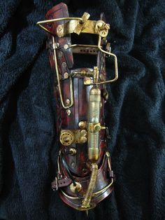 Awesome steampunk bracer.