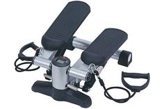 Securely attached resistance cords promote balance while toning your upper body. The Mini Stair Stepper allows for minimum space and investment needed. This low-impact, high intensity workout helps… Cardio Equipment, Training Equipment, Workout Machines, Exercise Machine, New Trainers, High Intensity Workout, Best Natural Skin Care, Keep Fit, Aerobics