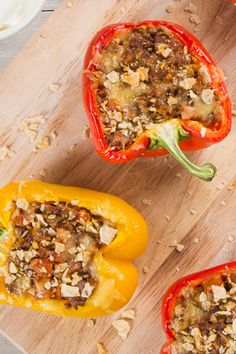 It's a taco alternativePick a color, or mix 'em up. These taco-stuffed Florida bell peppers are a taste changer. Eat FreshFromFlorida all year.