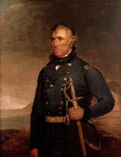 - Portrait of Zachary Taylor by Joseph Henry Bush President of the United States) - American Presidents Series - Canvas Wall Art Gallery Wrap Ready to Hang - inches Mexican American War, American History, American Presidents, Us Presidents, Zachary Taylor, Historical Association, War Of 1812, United States Army, Founding Fathers