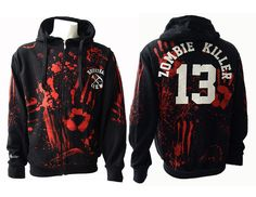 I found 'Zombie Killer Zip Hoody' on Wish, check it out!