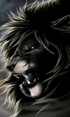 Black Danger Lion For Android Phone Mobile Theme Animals And Pets, Funny Animals, Cute Animals, Lion Noir, Animiertes Gif, Animated Gif, Lion Wallpaper, Lion Pictures, Lion Images
