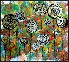 Tekenen en zo: in de stijl van beroemde kunstenaars - vele kunstenaars en voorstel les!