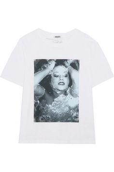 KENZO - Printed Cotton-jersey T-shirt - White - x large