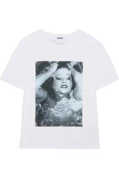 KENZO - Printed Cotton-jersey T-shirt - White - x large