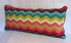 Decorative Pillow in Panama Wave Desert by PillowLoftHomeDecor, $37.99