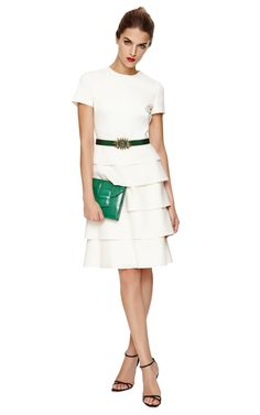 Valentino Dress with Tiered Skirt