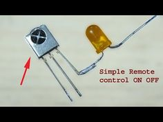 How to make Remote ON OFF, super simple remote control on off diy circuit. Today i will show you how to make remote on off circuit, super simple and easy rem. Electronics Mini Projects, Hobby Electronics, Electronics Basics, Electrical Projects, Robotics Projects, Arduino Projects, Electronic Circuit Design, Circuit Board Design, Diy Amplifier